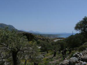 Wąwóz Imbros iFrangokastello - drugi dzień naKrecie