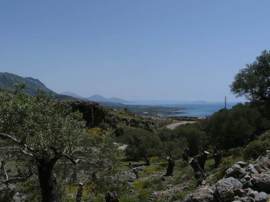 Wąwóz Imbros i Frangokastello - drugi dzień na Krecie