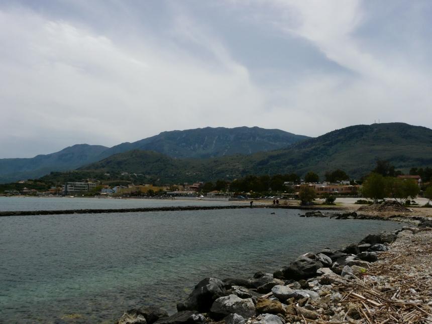 Georgioupolis - widok naplaże