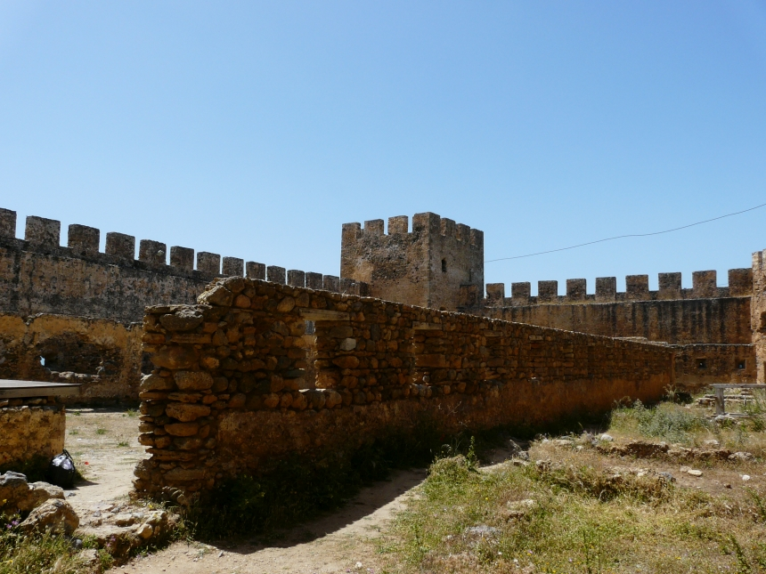 Zamek Frangokastello - Kreta