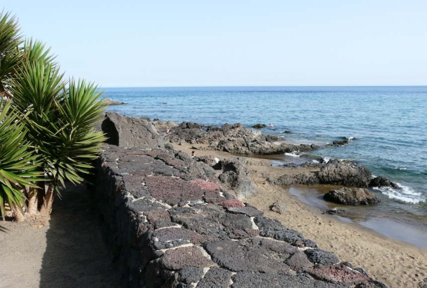 Czarna ziemia Lanzarote