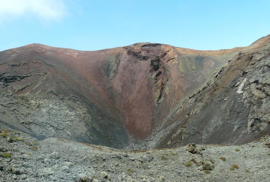 Lanzarote - jedna zwulkanicznych Wysp Kanaryjskich