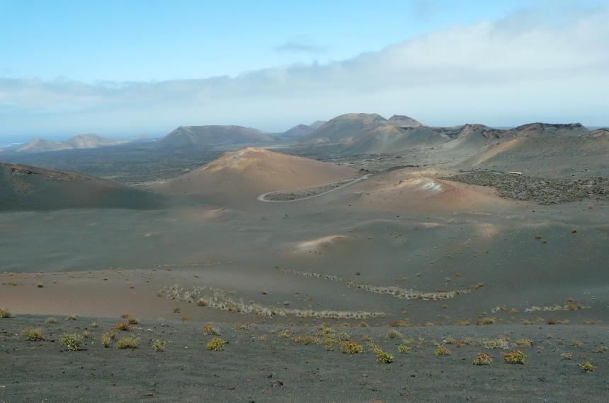 Wulkaniczna wyspa Lanzarote