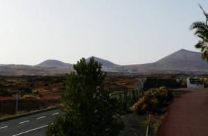 Pełna wulkanów wyspa Lanzarote