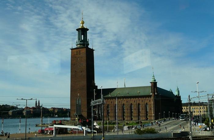 Stadshuset – ratusz miejski Sztokholm