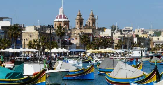 Marsaxlokk – rybacka osada na Malcie
