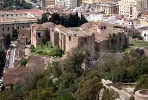 Alcazaba, Malaga, Hiszpania