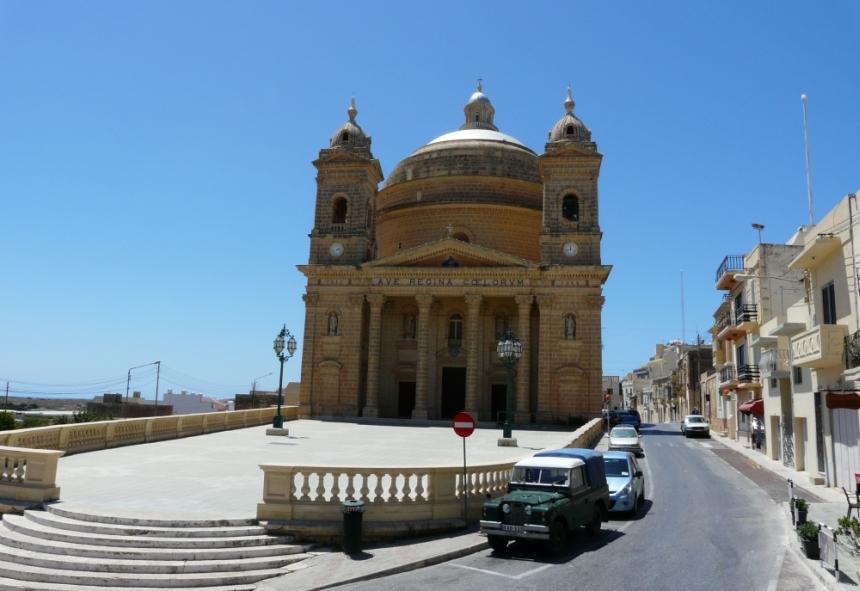 Kościół farny, Mgarr, Malta