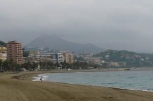 Plaża wMaladze, Hiszpania