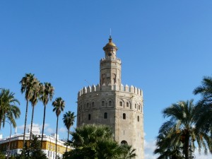 Torre del Oro, Sewilla, Hiszpania
