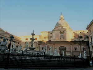 Fontanna wstydu, Palermo, Sycylia