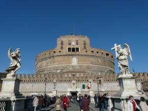Zamek św. Anioła, Mauzoleum Hadriana, Rzym, Włochy