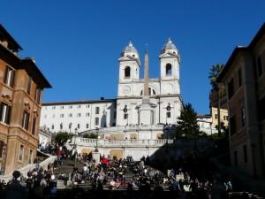 Symbol Rzymu - Hiszpańskie schody