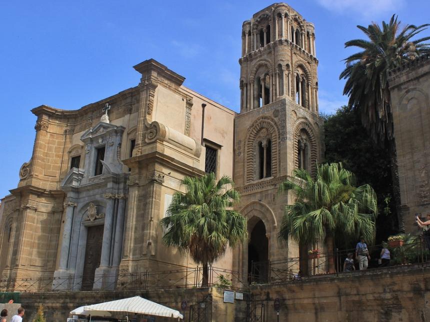Santa Maria dell'Ammiraglio, Palermo, Sycylia