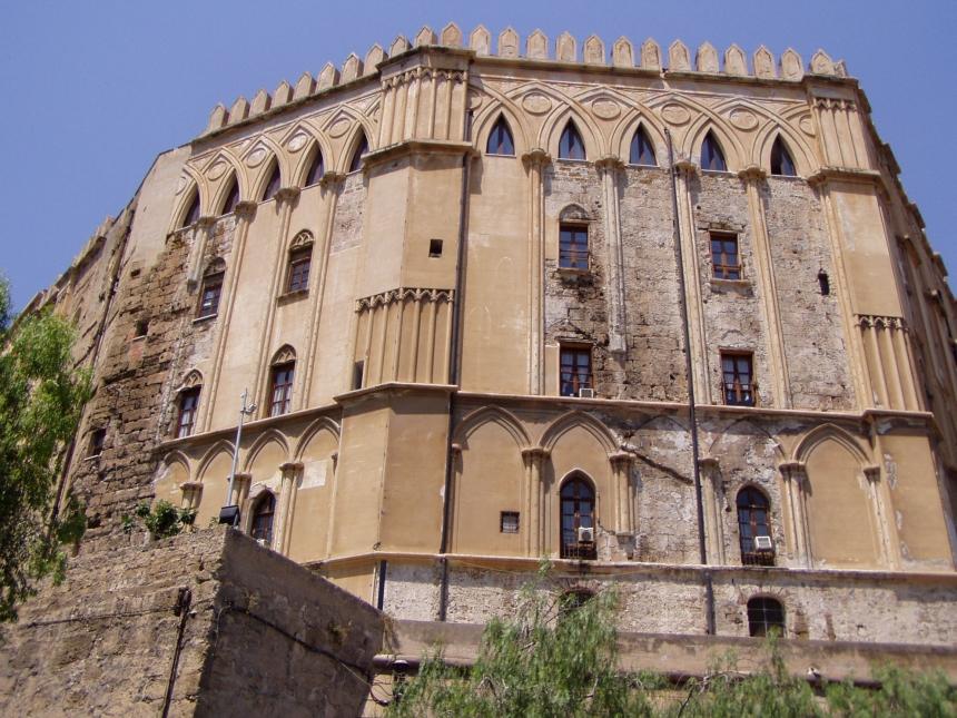 Pałac królewski, Palazzo Reale lubPalazzo dei Normani wPalermo