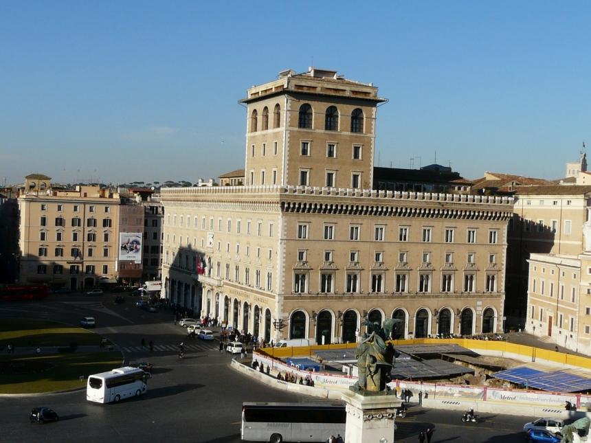 Pałac Wenecki naPlacu Weneckim wRzymie