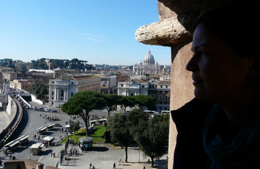Rzym - widok naWatykan