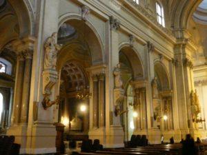 Wnętrze katedry Santa Rosalia, Palermo, Sycylia