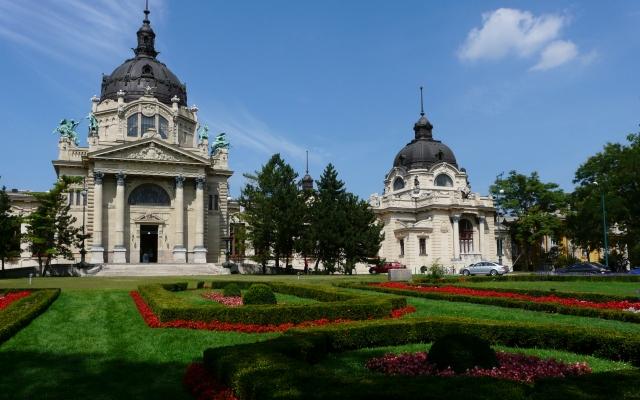Kompleks basenów (Széchenyi Fürdő), Budapeszt, Węgry
