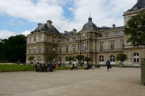 Jardin de Luxembourg, Ogród Luksemburski, Paryż, Francja