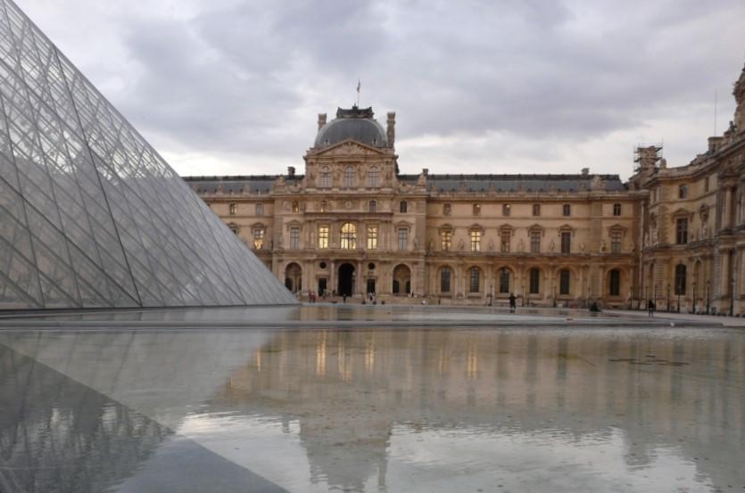 Luwr (Louvre), Paryż, Francja