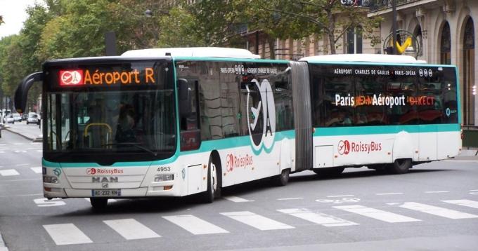 Roissybus, Paryż