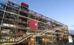 Centrum Pompidou, Paryż, Francja