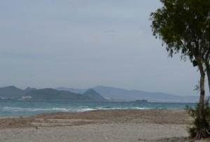 Plaża wmiejscowości Lambi, wyspa Kos