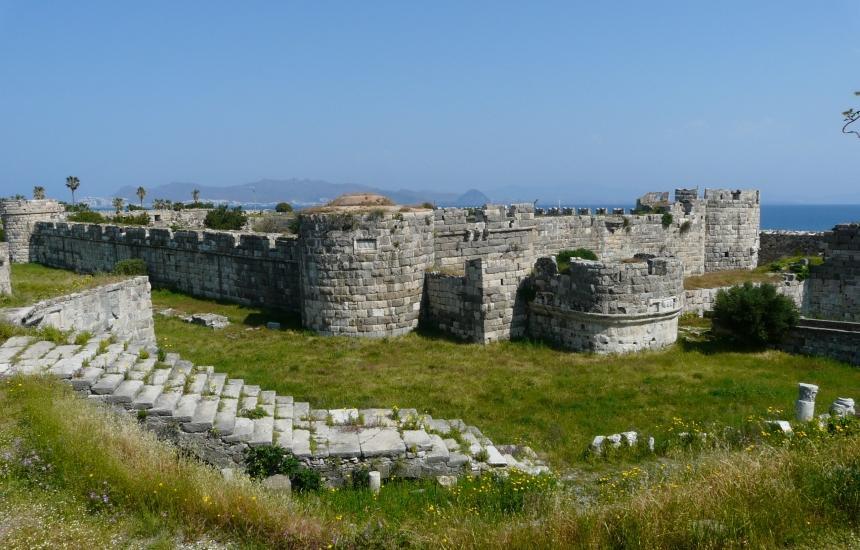 Zamek Neratzia, Kos