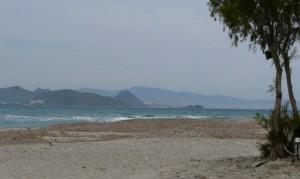 Plaża wmiejscowości Lampi, wyspa Kos