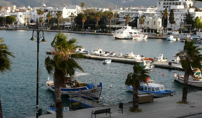 Port wmieście Kos