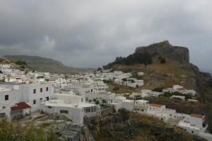 Lindos - perełka turystyczna Rodos