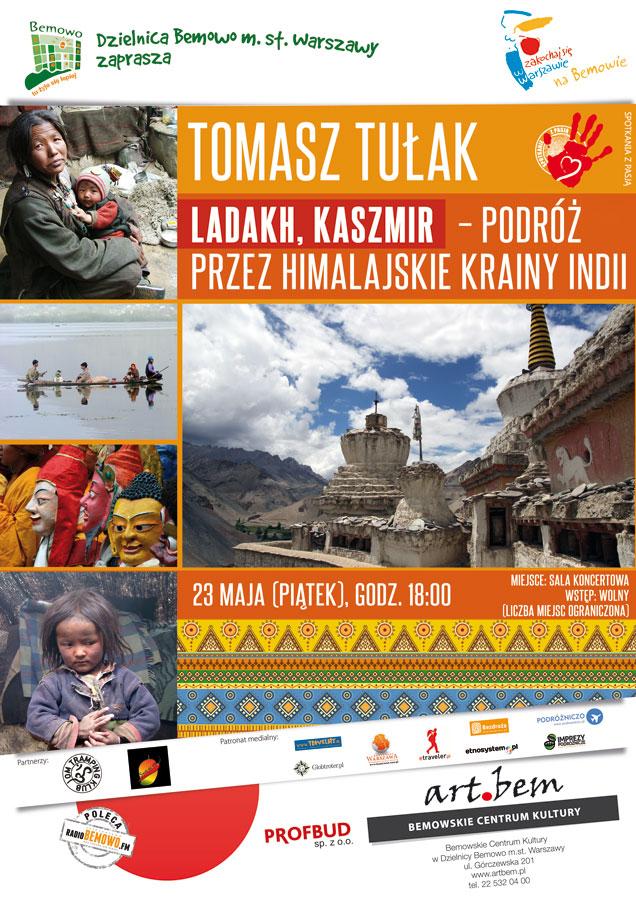 Spotkanie zpasją: Ladakh, Kaszmir - podróż przezhimalajskie krainy Indii