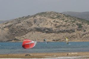 Prasonisi - raj dlasurferów napołudniu Rodos