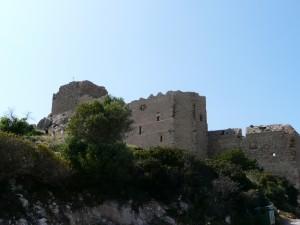 Zamek Kritinia - zamek Joannitów