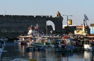 Rodos - stolica greckiej wyspy Rodos