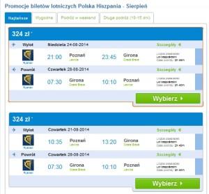Wyniki wyszukiwania tanich lotów nastronie www.fru.pl