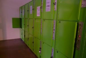 Automatyczna przechowywalnia bagażu wBergamo, Włochy