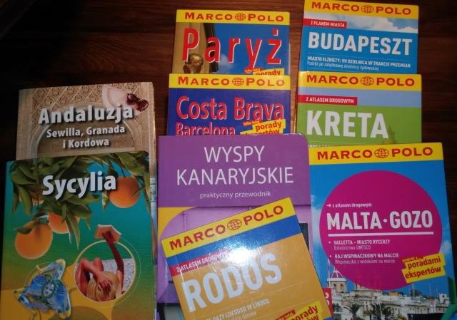 Przewodniki książkowe - poradnik taniego podróżowania