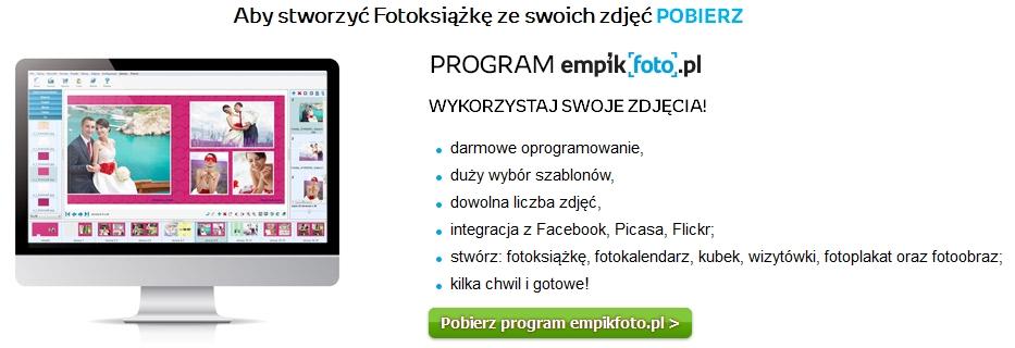 Empikfoto - Fotoksiążka krok pierwszy