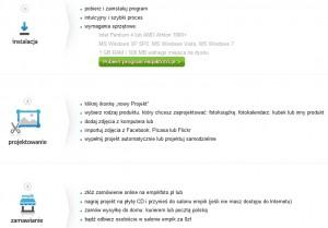 Empikfoto - fotoksiążka, informacja okrokach