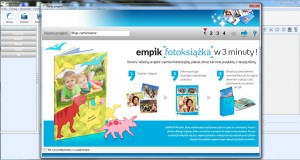 Empikfoto - fotoksiążka, program do tworzeni fotoalbumu