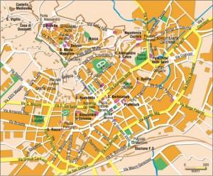 Bergamo, Włochy mapa