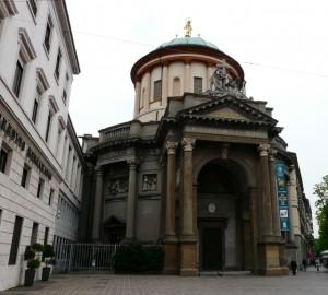 Bergamo, Włochy, kościół Santa Maria Immacolata