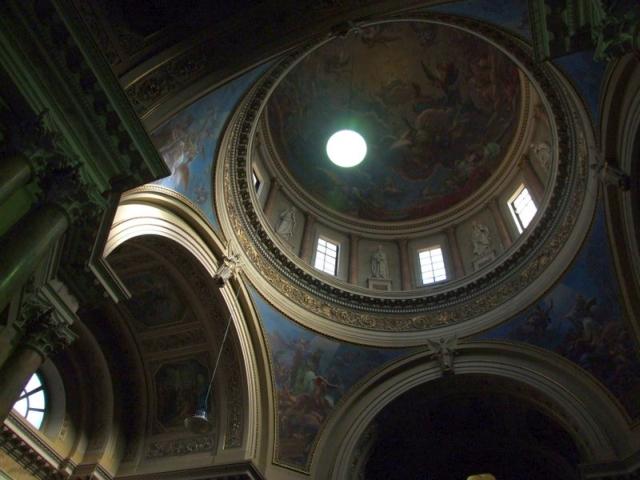 Bergamo, Włochy, kościół Santa Maria Immacolata wnętrze