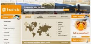 Subiektywny przegląd sklepów podróżnika - wydawnictwo Bezdroża