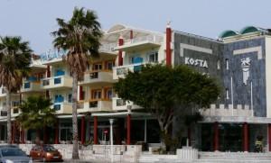 Hotel Kosta Palace widok zzewnątrz