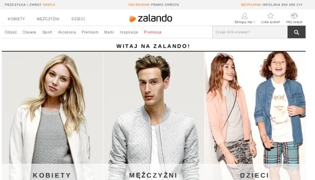 Subiektywny przegląd sklepów podróżnika - Zalando