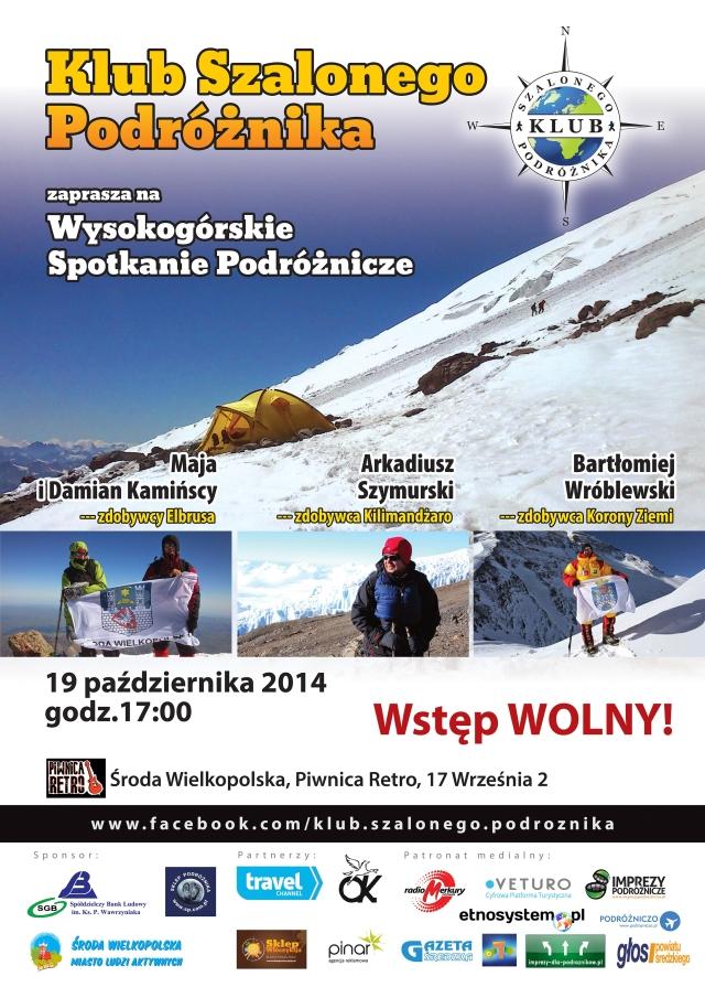 Spotkanie nagórskich szczytach wKlubie Szalonego Podróżnika