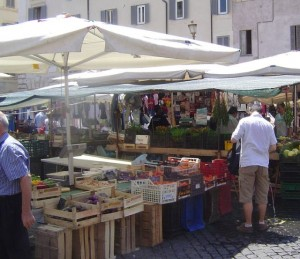 Targowiska wRzymie, Włochy